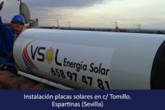 instalador placas solares espartinas