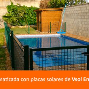 placas solares piscina