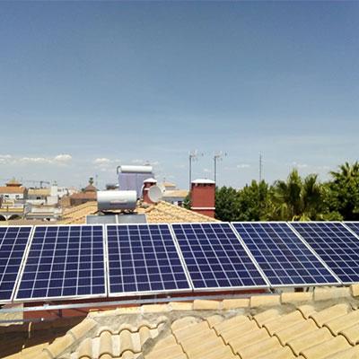 placas solares fotovoltaicas para casa sevilla