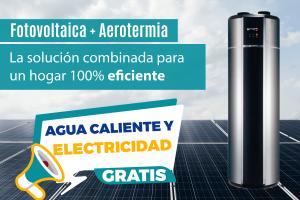 fotovoltaica y aerotermia